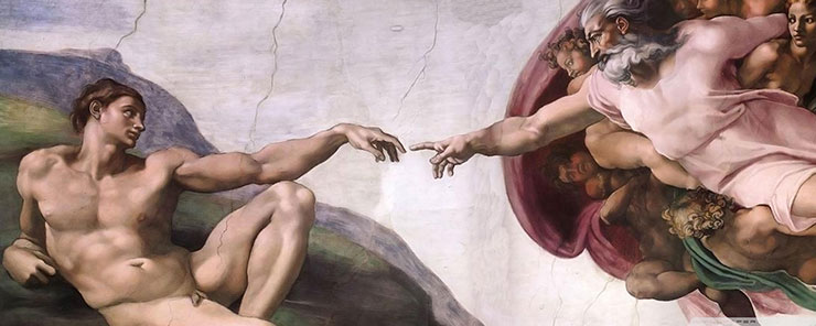 Michelangelo - Adam